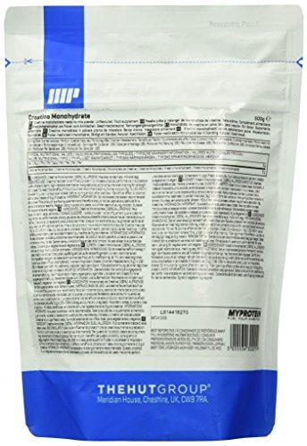 Myprotein Creatine Monohydrate Unflavoured, 1er Pack (1 x 500 g) - 2