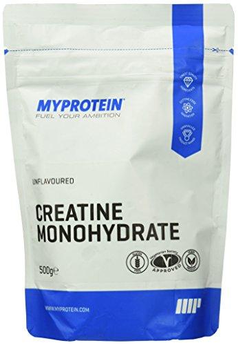 Myprotein Creatine Monohydrate Unflavoured, 1er Pack (1 x 500 g) - 1