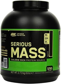 Optimum Nutrition Serious Mass Gainer, Chocolate, 1er Pack (1 x 2727g) - 1