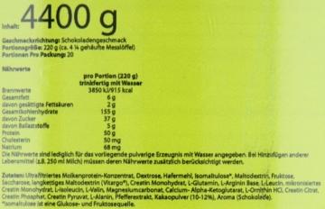 Scitec Nutrition Jumbo, Schokolade, 4400 g, 25142 - 3