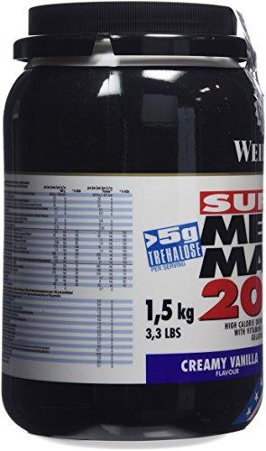Weider Mega Mass 2000, Vanille, 1,5kg Dose - 8