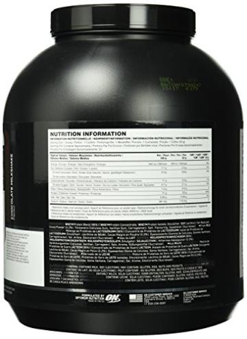 Optimum Nutrition Protein Whey Chocolate Milkshake, 1er Pack (1 x 1.7 kg) -